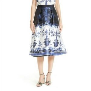 Ted Baker A-Line Tea Skirt US 10